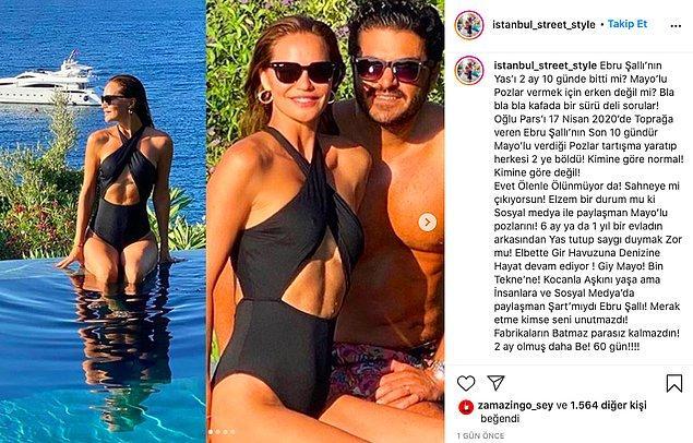 Bir Instagram hesabının Ebru Şallı hakkında şu şekilde yorum yapması, gerçekten pes dedirtti!
