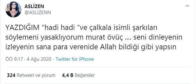 Olay o kadar büyüdü ki, ünlüler de Murat Övüç'e tepkilerini böyle gösterdiler...
