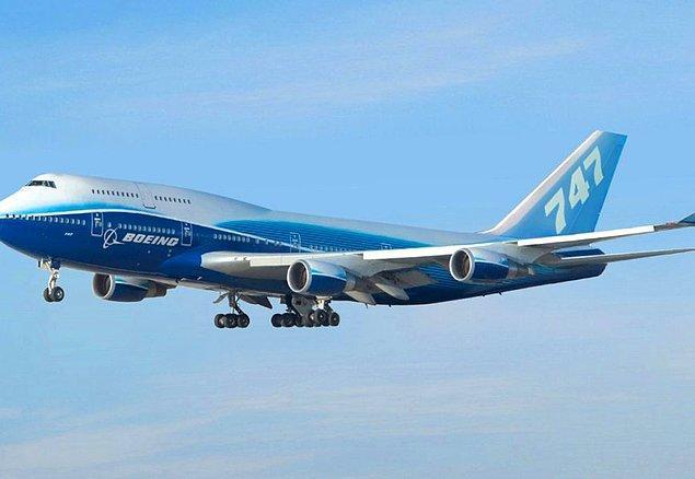 5. Boeing 747'nin kanat açıklığı, Wright Kardeşler'in gerçekleştirdiği tarihteki ilk uçuşun mesafesinden daha uzundur.