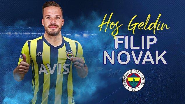 Sarı-lacivertli ekip, saat 19.07'de Trabzaonspor'dan ayrılan Çek sol bek Filip Novak'ı 3 yıllığına kadrosuna kattığını duyurdu.