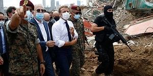 Beyrut'taki Patlamanın Ardından İmza Kampanyası Başlatıldı: 'Lübnan Yeniden Fransız Mandası Altına Girsin'
