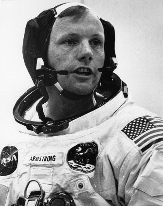 Bu teorilerle sık sık gündeme gelen Neil Armstrong, şimdi de uzaylılara olan inanışıyla gündeme geldi!