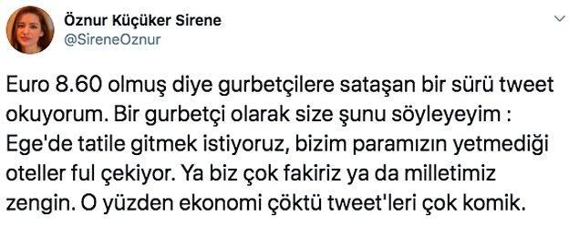 Türkiye'de lüks içinde yaşadığımızı birçok gurbetçiden duyabilirsiniz. E tabii bu üretilen argümanlar da vatandaşın canını sıkıyor.