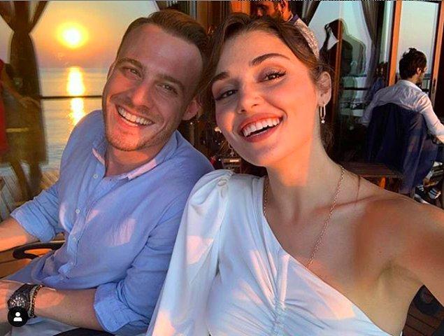 10. Kerem Bürsin, Hande Erçel ile aralarında çıkan aşk dedikodularıyla ilgili bir açıklama yaptı!