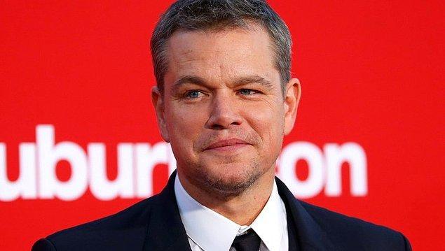 1. Matt Damon