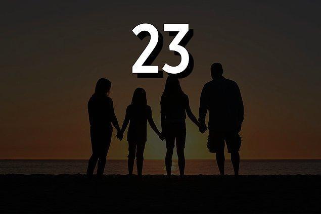 23 yaşında ebeveyn olacaksın!