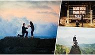 Evlilik Düşünmeyenlere Bile ''Evet'' Dedirtecek 22 Romantik Evlilik Teklifi
