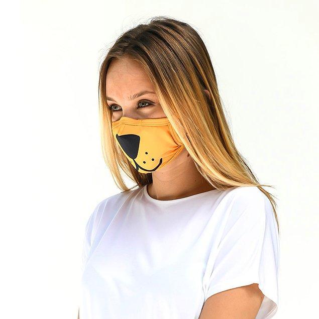 İsterseniz çocuğunuzla takım olacak bir maske de alabilirsiniz.