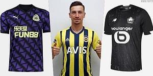 Türkiye'den ve Dünyadan Futbol Takımlarının 2020-2021 Sezonunda Giyecekleri Formalar