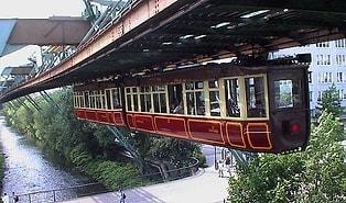 Geçmişten Değil de Gelecekten Gibi: 1902 Yılında Kaydedilmiş Görüntüler ile Almanya'daki Havadan Raylı Sistem