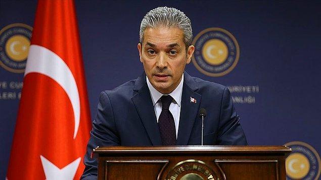 """""""Akdeniz'de gerginliği arttıran taraf Türkiye değil, Yunanistan'dır"""""""