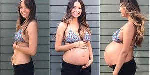 Hamileliğinin 12. Haftasından Bebeğini Kucağına Aldığı Ana Kadar Olan Süreci Kaydeden Annenin Zaman İçinde Yaşadığı Muhteşem Değişim