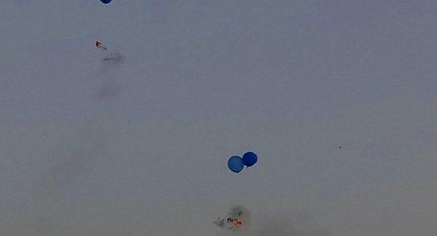 Gerekçe yakıcı balonlar