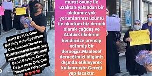 Murat Övüç'ün Bir Dernek Başkanının Haberi Olmadan Üyelere Para Vererek Etkinlik Düzenlettiği İddia Edildi