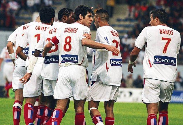 PSG'den önce Fransa Ligue 1'i domine eden başka bir takım vardı: Olympique Lyon