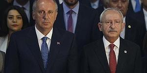 CHP'den İnce'ye Yanıt Geldi: 'Seçim Sonuçlarını İzlemek İçin Genel Merkeze Davet Ettik, Gelmedi'