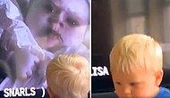 Televizyondaki Korkunçlu Sahneden Korkan Oğlunu Kameraya Çekerken Kahkaha Atan Baba