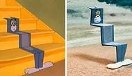 Tom'un Jerry'yi Kovalarken Başına Gelen Talihsizlikler Heykel Oldu