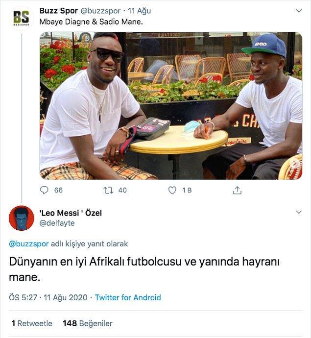 5. Bir sevdadır Mbaye Diagne. 🙃