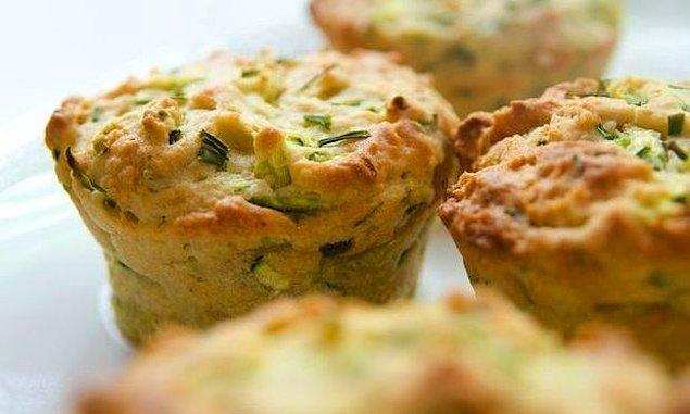 2. Kabaklı muffin