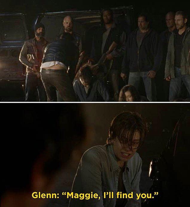 10. 'The Walking Dead'de, Negan'ın destansı girişi ve Glenn'i öldürdüğü sahne.