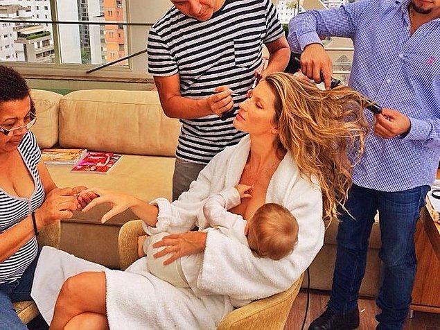 9. Bebek emzirmek...