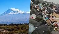 'Türkiye'nin Çatısı' Çöplüğe Döndü: Ağrı Dağı'ndaki Utandıran Manzara Gündemde