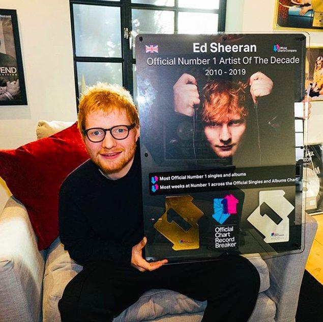 7. Ed Sheeran