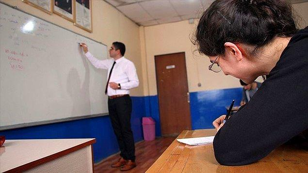 '8 ve 12. sınıflar hariç destekleme ve yetiştirme kursu adı altında yüz yüze eğitim olmayacak'