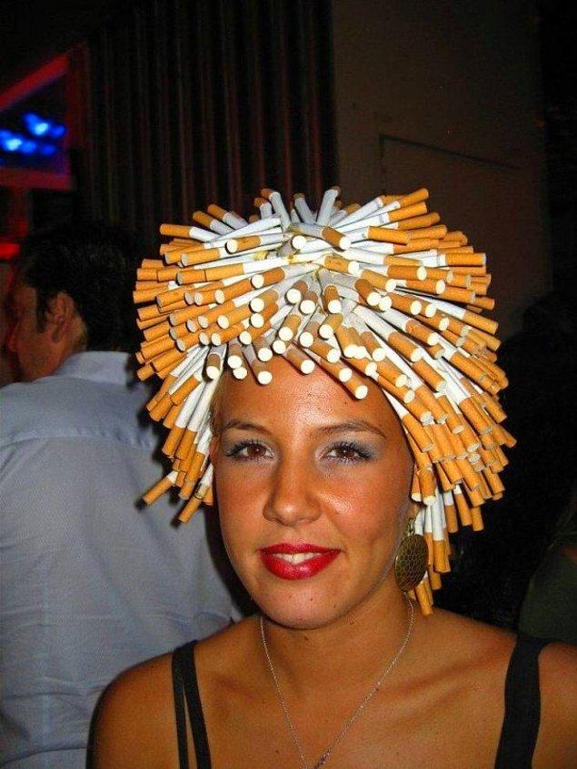 16. Sigara fiyatları uçtu buna gücümüz yetmez.