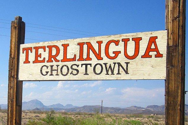 6. Terlingua, Teksas