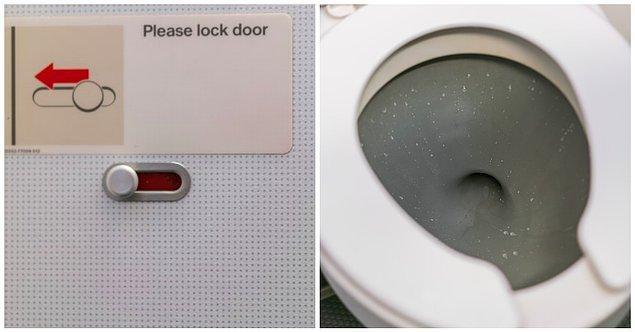 2. ''Tuvaletin yerini çok yanlış anlamak''