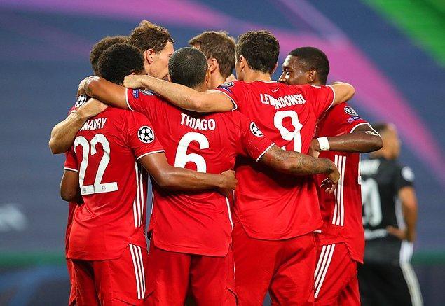 Kalan sürede başka gol olmayınca Bayern Münih, Şampiyonlar Ligi'nde finale yükseldi.