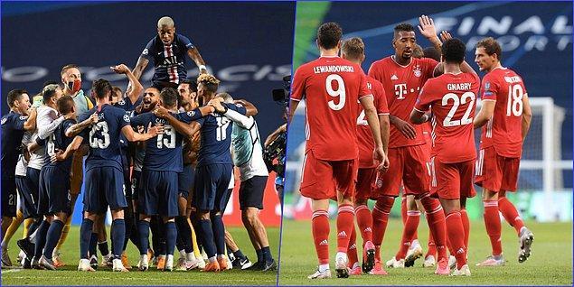 Bayern Münih, finalde pazar günü PSG ile kozlarını paylaşacak.