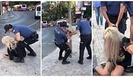 İstanbul'da 'Maskesi Burnunu Kapatmadığı' İddia Edilen Kadın Polisler Tarafından Darp Edildi...