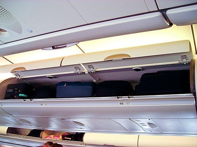 4. ''Kabin bagajı kompartmanının gizemi''