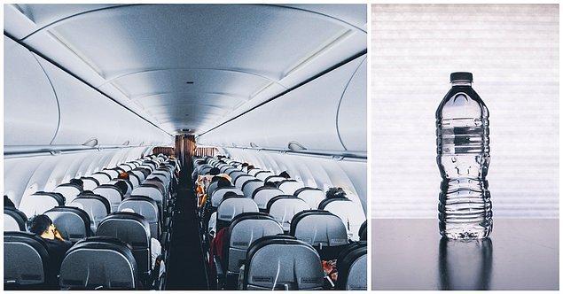 7. ''Uçakta ihtiyacınızı gidermenin bir farklı yolu daha var''