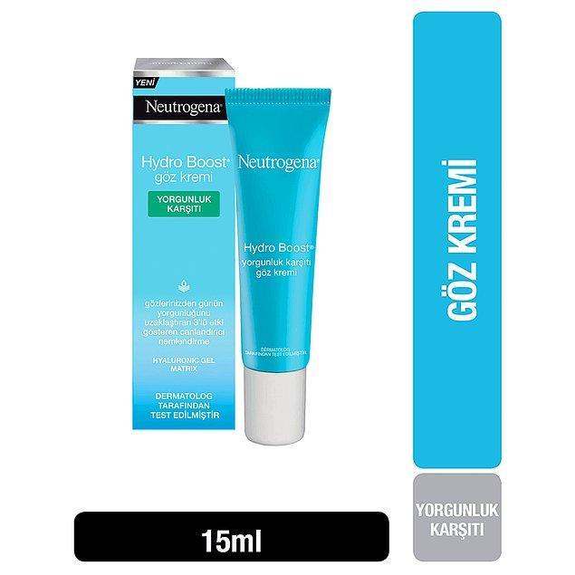 11. Neutrogena yorgunluk karşıtı göz kremi de %50 indirimde ve sadece 38 TL!