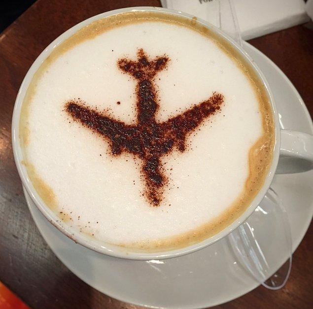 8. ''Sade bir kahve lütfen''