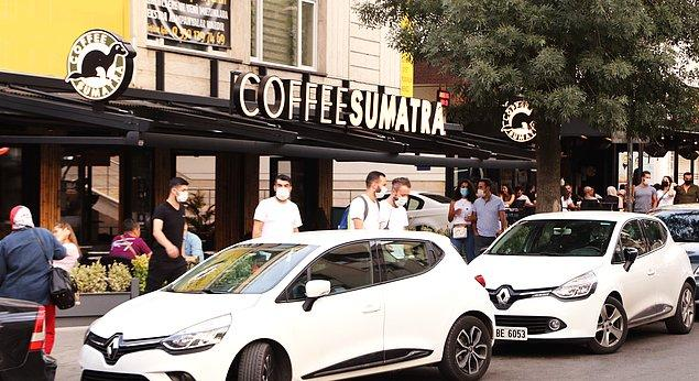 5. Coffee Sumatra Ankara Bahçelievler 7. Cadde şubesinde eşsiz lezzetleri deneyimleyebilirsiniz.