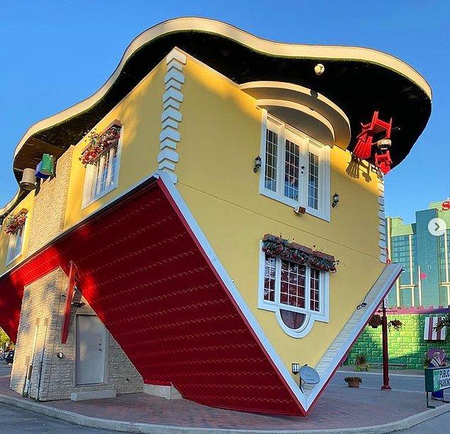5. Ülkemizde de son dönemin en popüler mimari yapılarından biri olan ters evler: