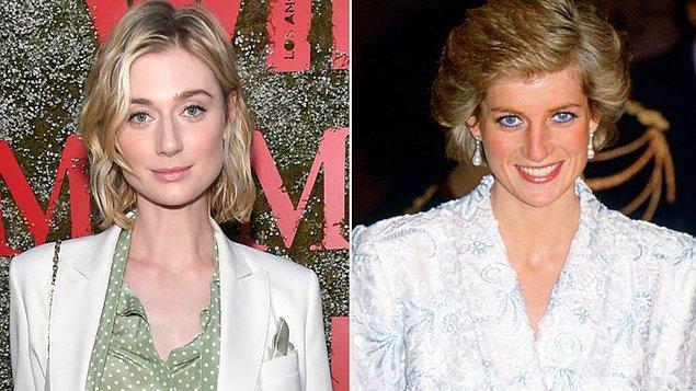2. The Crown'ın son iki sezonunda Galler Prensesi Diana'yı Avustralyalı oyuncu Elizabeth Debicki canlandıracak.
