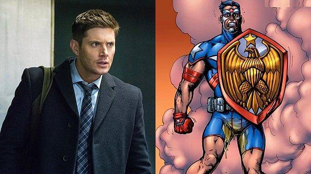 5. Supernatural dizisiyle tanınan Jensen Ackles, The Boys'un 3. sezonunda Captain America'dan izler taşıyan Soldier Boy karakterine hayat verecek.