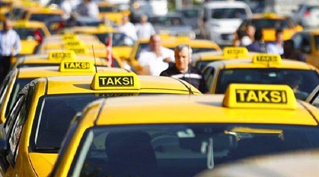 11. Taksiciler