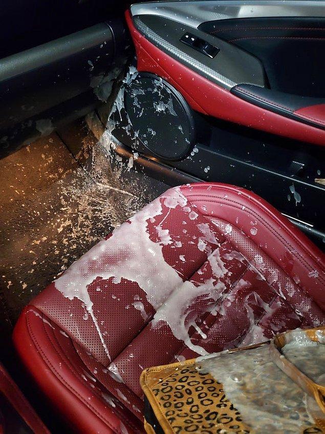 """10. """"Arabada mum kalmış. Sıcak havada bekledi, aldığımda patladı."""""""