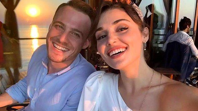 Kerem Bursin, partneri Hande Erçel'e övgüler yağdırdı!