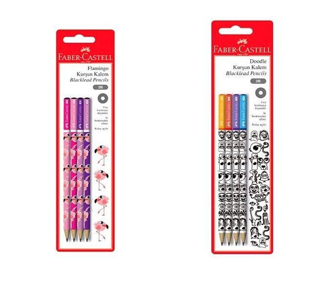 2. Şu kalemlerin tatlılığına bakar mısınız? İnsan bunlarla yazmaya kıyamaz...