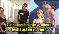 Ünlü Futbolcu Zlatan Ibrahimovic'in Eşini Spiker Diletta Leotta ile Aldattığı Haberleri Ortalığı Karıştırdı