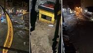 Giresun Sele Teslim: Caddeler Suya Gömüldü, Büfe ve Araçlar Metrelerce Sürüklendi!