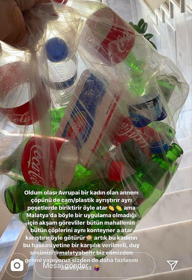 10. Çöp paylaşmak bilinci artırmak için olsa belki de, Avrupai vurgusu sanki pek öyle değil diyor.